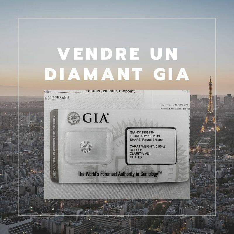 Diamant certifié par le laboratoire GIA