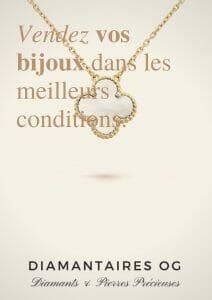 Estimation bijoux dans les meilleurs conditions avec Diamantaires Paris