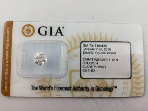 Acheter un diamant brut certifié GIA