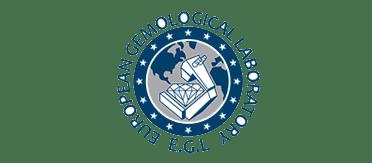 Logo EGL certificat diamant