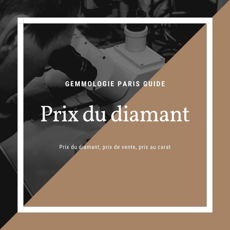 Guide Prix du diamant , au carat et à la vente
