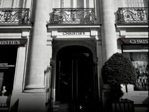 Christie's Paris maison de vente