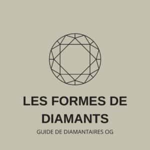 Les formes de diamants